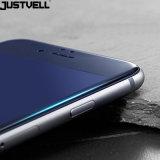 Protecteur protecteur d'écran incurvé par 3D en verre Tempered de bord d'accessoires de téléphone de Justvell pour l'iPhone 6p 6sp 7p