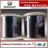 Traitement de recuit brillant Nicr60 / 15 fils d'alliage Ni-Cr pour élément chauffant
