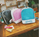 Sac à dos mignon Yf-Sbz2223 de champignon de couche de sac à dos d'école de sac de sac à dos extérieur de jardin d'enfants