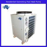 プールのヒートポンプのヒーター(OBM)に水をまく住宅の空気