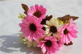 Margarita colorida de las flores artificiales para las piezas centrales del vector de la boda