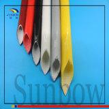 Sleeving isolado da câmara de ar do vidro de fibra do silicone do UL 3.5mm de Sunbow
