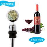 Sublimação Plugue de garrafa de vinho de metal com Heat Press Blanks