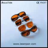 ND del O.D6+ @200-540nm y del O.D5+ @900-1100nm: Seguridad Eyewear de los vidrios de protección de laser de YAG con el marco 33