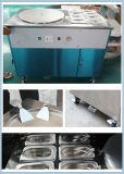 La vendita calda di raffreddamento buona Tailandia ha rotolato la macchina fritta del gelato