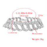 方法完全なラインストーンのダイヤモンドの水晶チョークバルブのネックレスの宝石類
