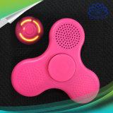 Hilandero verde y rosado de la persona agitada del altavoz de la mano del dedo del juguete LED