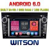 Reproductor de DVD del coche del androide 6.0 de la Patio-Memoria de Witson para el RAM Bulit de Opel Astra/SUV Antara/Corsa 2g en la ROM de 4G 16GB