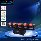 5 éclairages principaux mobiles neufs de barre de la lumière DEL du faisceau 15W principal