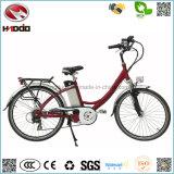 新しい250W方法安い電気都市バイクのリチウム電池の道の自転車のペダルのEバイクの手段