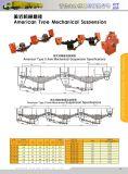 Suspension de remorque American Type Suspension Suspension de bogie Suspension mécanique