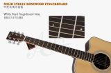 Guitarra acústica eléctrica superior sólida Sg02srce-41 de la marca de fábrica 41-Inch de Aiersi