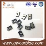 Pieza inserta de Cnmg Tnmg 160408 del carburo de tungsteno para moler