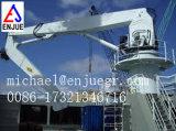 Do guindaste marinho da plataforma do navio guindaste de dobramento telescópico do crescimento da junta