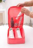 Мешок хранения ботинка Tote портативного водоустойчивого мешка ботинка перемещая сетчатый