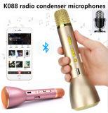 Microfono di condensatore senza fili di karaoke di Bluetooth di mini modo freddo portatile variopinto Ss-K088