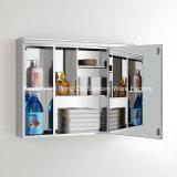 Самомоднейший популярный шкаф зеркала стены нержавеющей стали ванной комнаты установленный Suface