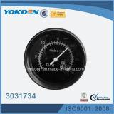 3031734 24VCC 85mm Couleur blanc tachymètre du moteur diesel