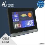 Reloj de interior y al aire libre de la estación meteorológica del color del LCD con Temp&Humidity