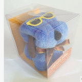 Rectángulo claro de encargo para los pequeños juguetes (rectángulo plegable del PVC)
