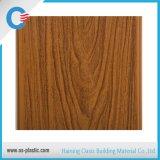 Panneau de mur en bois de PVC de modèle