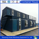 Estructura de acero prefabricada de la venta caliente que construye la casa prefabricada del edificio del envase modular de la oficina