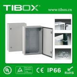 Caixa de metal - Gabinete de montagem em parede a prova de água - Caixa de alumínio Tibox