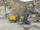 地図書のCopco 735cfm鉱山のための携帯用ねじ圧縮機