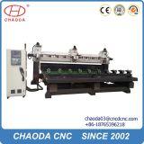 Le travail du bois de machines CNC 5 axes avec Multihead Rotary