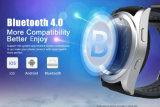 Heet Nr 1 G6 Bluetooth 4.0 Polshorloge van de Monitor van de Slaap van de Afstandsbediening van het Horloge van Psg van de Monitor van het Tarief van het Hart Smartwatch het Slimme voor de Androïde Ios Slimme Zilveren Riem TPU van de Telefoon