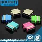 Adaptador de fibra óptica Sc a Sc Duplex con tipo de brida