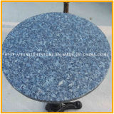 Tavolino da salotto blu poco costoso della mobilia della sala da pranzo del marmo della pietra del granito della perla