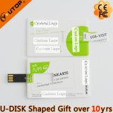 Movimentação feita sob encomenda quente do flash do USB do cartão de crédito do presente do logotipo (YT-3101)