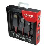 Mikro-USB Mhl HDMI 1080P zum Fernsehapparat-Kabel-Adapter für Anmerkung 2/3 der Samsung-Galaxie-S3 S4