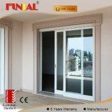 Дверь сползая стекла для живущий комнаты