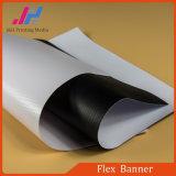 Знамя PVC лоснистое/штейновое гибкого трубопровода (500d*500d 9*9 13oz)