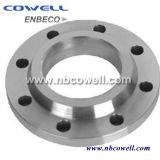 Slip ANSI B16.5 carbono de tubos de acero en la brida