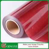 Qingyi gute Qualitätsfunkeln-Wärmeübertragung-Vinyl für Gewebe