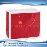 Sac de transporteur de empaquetage estampé de papier pour les vêtements de cadeau d'achats (XC-bgg-039)