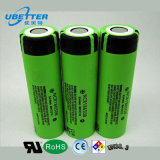 Li-ion 18650 3.7V 3400mAh Battery/NCR18650b cilíndrico recargable del OEM