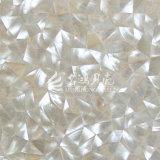 Azulejo de mosaico irregular del triángulo del shell de Trochus