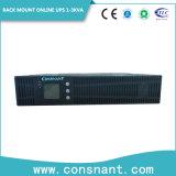 UPS en línea del montaje de estante de 1-10kVA Eco con el factor de potencia 0.9