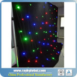 Muitas Cores RGB LED Cortina Estrela pano de estrela para DJ cenários de LED