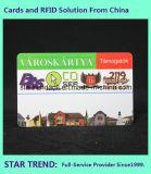 Visitenkarte mit Barcode für Gymnastik