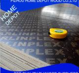 18 mm van het Film Onder ogen gezien Triplex voor Concrete Bekisting in Bouw