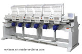 刺繍デザインの6ヘッド機械