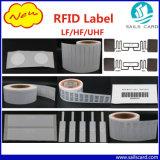 Tag de papel da etiqueta da voz passiva Lf/Hf/UHF RFID do animal de estimação para a gerência