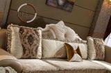 居間のための古典的なファブリック従来のホームソファ
