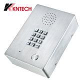 acero inoxidable Auto-Dial de intercomunicación con teclado de teléfono de emergencia Knzd-03
