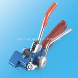 Serre-câble enduit de boucle de polyester d'acier inoxydable pour l'empaquetement général